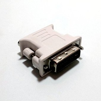 Harga 10 Pack DVI to VGA Atapter ( Male to Female ) DVI-D (24+1)
