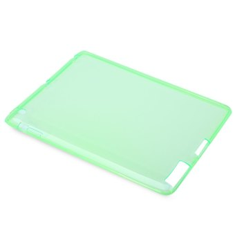 Harga TimeZone TPU Soft Case Cover Crystal Clear Transparent Silicon Ultra Slim Shell for iPad 2 3 4 (Green)