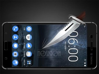 Nokia 6 Tempered Glass + Nokia 6 Soft Silicon Phone Case ---- NOZIROH - intl - 3