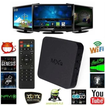 Harga MXQ S805 Quad Core Android 4.4 TV Box Media Player 1080P HDMI WiFi 8GB - intl