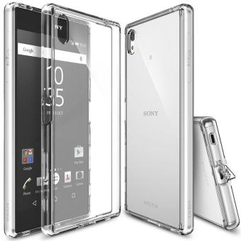 Harga Ringke Fusion PC And TPU Back Cover Case For Sony Xperia Z5 premium (Clear) - intl