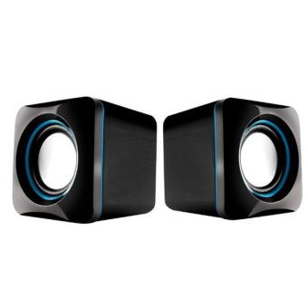 Harga Audiobox U-Cube USB Powered 2.0 Speakers (Blue)