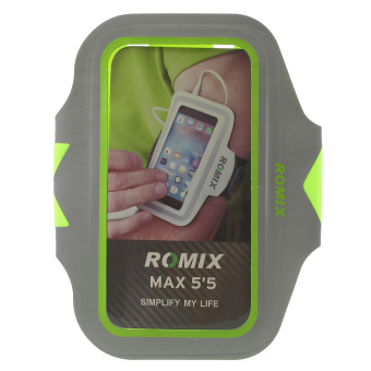 Harga ROMIX Light Reflection Slim Armband for iPhone 6s Plus/6 Plus - Green