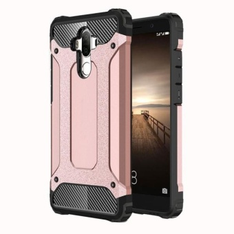 For Huawei Mate 9 Tough Armor TPU + PC Combination Case (Rose Gold) -