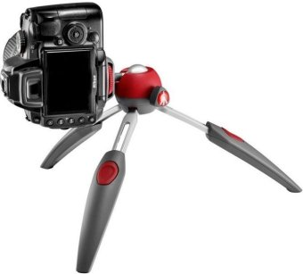 "Harga Manfrotto PIXI EVO 7.7"" Mini Tripod (Red)"