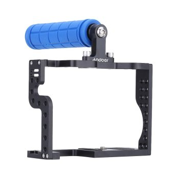 Harga Andoer DSLR Camera Cage Rig with Top Handle Grip for Panasonic Lumix GH3 GH4 Camera (EXPORT)
