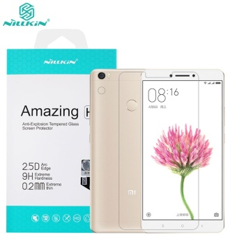 Harga Nillkin 0.2mm Screen Protector For Xiaomi Mi Max 2 Anti-Burst Tempered Glass Protective Film for xiaomi max - intl