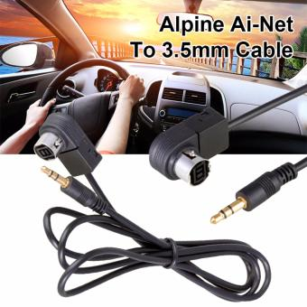 XCS® Alpine Ai-Net to 3.5MM iPod Aux Input Adapter KCA-121B for MP3 MP4 iPhone MA017-SZ, 4.92, Update. 3.5mm Jack AUX Audio Input Cable ...