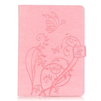 Harga Moonmini PU Leather Case Cover for Apple iPad Pro 9.7 inch (Pink) - Intl