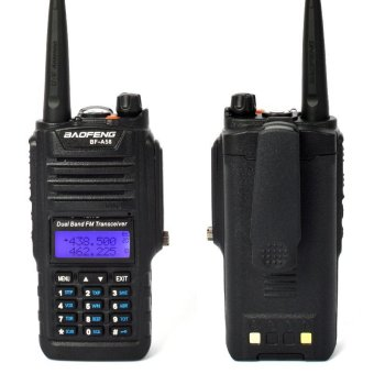 Harga Two Way Radio Bao Feng BF-A58 Waterproof Anti Dust Two Way Radio 136-174/ 400-520Mhz Speaker Mic (EXPORT)