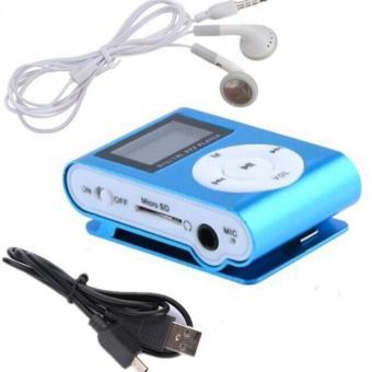 Hot sale mini MP3 Player Clip USB FM Radio LCD Screen with TF/SD card