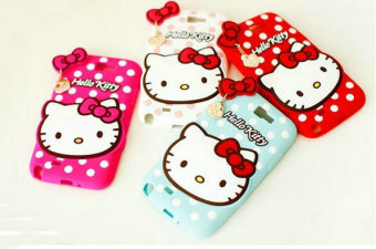 Harga Shell samsung note3 neo N7505 polka dot kt hello kitty silicone case S7562 MOBILE phone shell soft shell