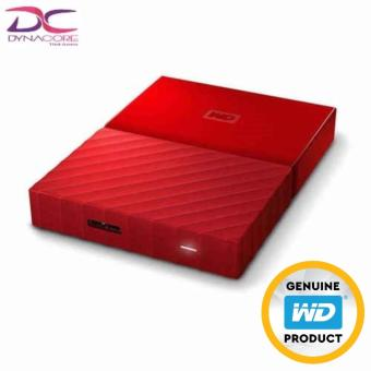 WD 4TB Red My Passport Portable External Hard Drive (3 YRS Local (Singapore) warranty) - 4