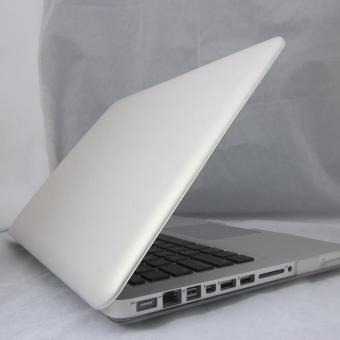 "Rubberized Hard Case + US Keyboard Cover for Macbook Pro 15"" Transparent(Export) - 4"