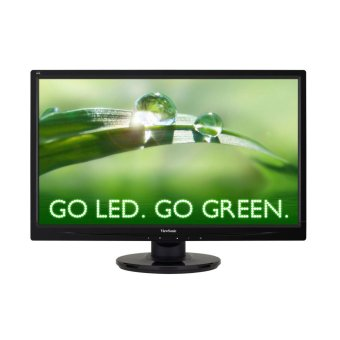 "Harga ViewSonic VA2046A-LED 19.5"" LED Display. Sleek and Stylish Display."