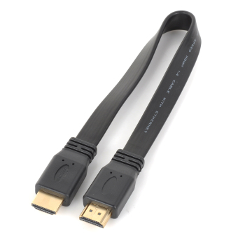 Harga HDMI Male to Male Connection Cable - Black (30cm)