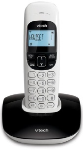Harga VTECH VT1301 BLACK Digital Cordless Phone (Single Unit)