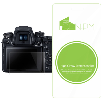 Harga GENPM High Glossy Protection film for olympus OM-D E-M10 Mark II camera screen