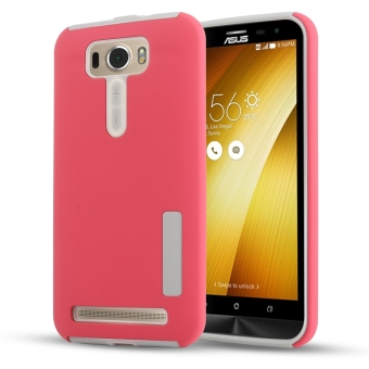 Harga Moonmini Hybrid Combo Shockproof Back Case Cover for Asus ZenFone 2 Laser ZE550KL 5.5 inch (Red) - intl