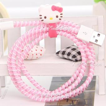Harga Hello Kitty Cable Protector with Cord Winder