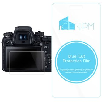 Harga GENPM Blue-Cut Protection film for olympus OM-D E-M10 Mark II camera screen