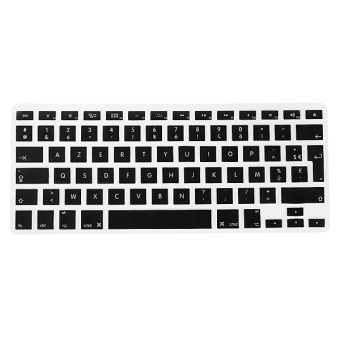 Harga Silicone Keyboard Skin Cover for Apple Macbook Air Pro (Black)