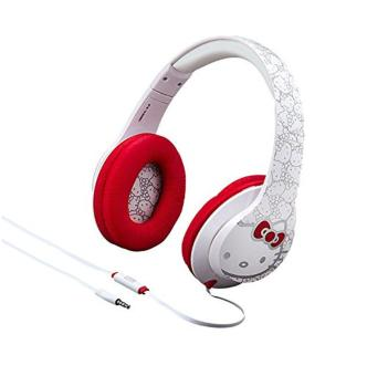 Harga Hello Kitty Over the Ear Headphones with Built in Microphone - intl