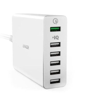 Harga PowerPort+ 6 with Quick Charge 3.0 (UK)