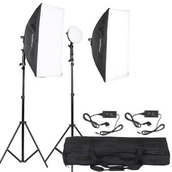 Harga Andoer LED Photography Studio Lighting Light Kit (EXPORT)