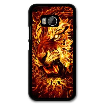 Harga Y&M Fire Lion Pattern Covers Cases For HTC M9 (Multicolor)