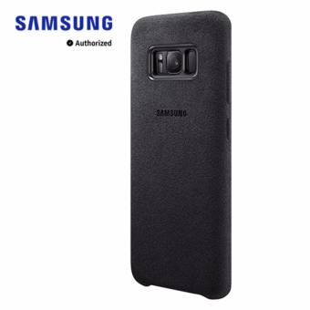 Harga Galaxy S8 Alcantara Cover - Black