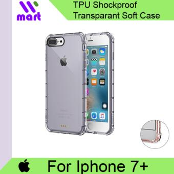 TPU Shockproof Transparent Soft Case For Apple Iphone 7 Plus