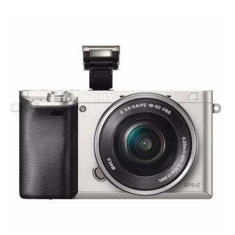 Harga Sony Alpha a6000 Mirrorless Digital Camera with 16-50mm Lens (Silver)