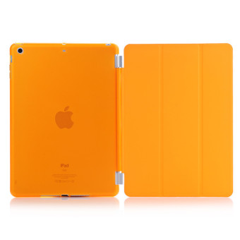 Harga Welink Detachable Smart Cover + Slim Transparent Back Case for Apple iPad mini 1/2/3 (Orange)(Export)(Intl)
