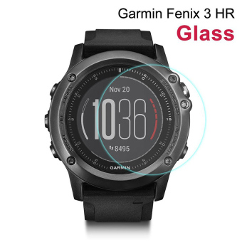 Harga Seeme Tempered Glass Screen Protector For Garmin Fenix 3 HR - intl