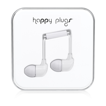 Harga Happy Plugs In-Ear White