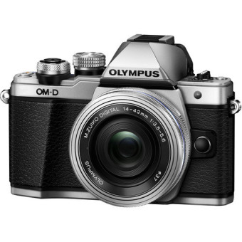 Harga Olympus OM-D E-M10 Mark II Mirrorless Micro Four Thirds Digital Camera with 14-42mm Lens (Silver)