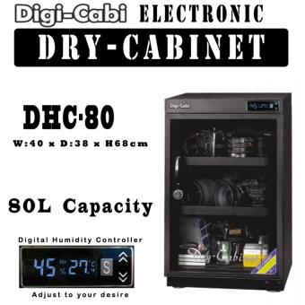 Harga DHC-80 | 80L Digi Cabi Electronic Dry Cabinet | 5 Years Warranty |