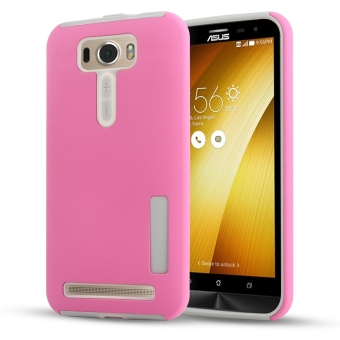 Harga Moonmini Hybrid Combo Shockproof Back Case Cover for Asus ZenFone 2 Laser ZE550KL 5.5 inch (Pink) - intl