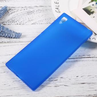 Harga Matte Skin Soft TPU Protective Cover for Sony Xperia XA1 - Blue - intl