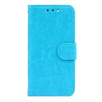 Wallet Flip PU Leather Phone Case Cover For Apple iPhone 6 / 6s (Blue)