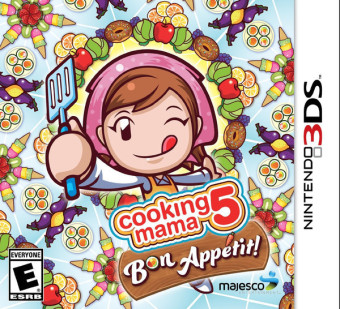 Harga 3DS Cooking Mama 5 : Bon Appetit! / US (English)