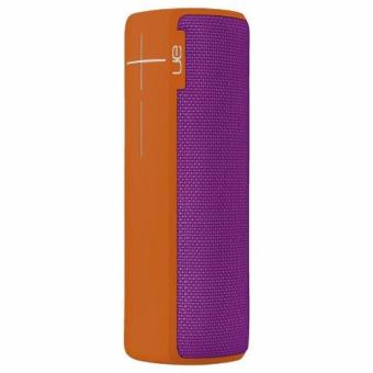 Harga UE BOOM 2 Tropical Wireless Mobile Bluetooth Speaker Waterproof and Shockproof (Orange/Purple)
