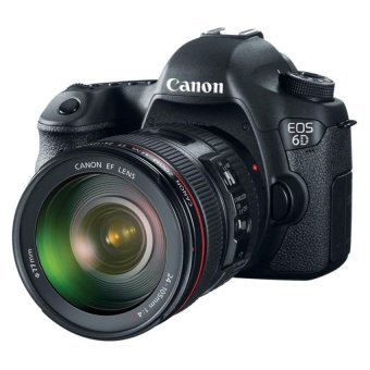 Harga Canon EOS 6D DSLR Camera with Canon EF 24-105mm f/4L Lens