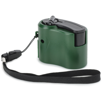 Harga Dynamo Hand Crank USB Cell Phone Emergency Charger (Green)