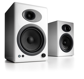 Harga Audioengine A5+ Powered Speakers, White /Official Product