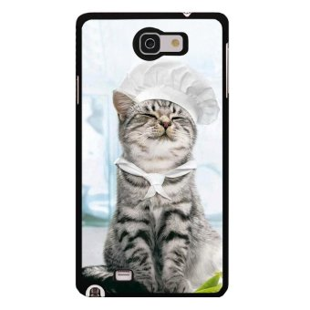 Harga Y&M Cooker Lovely Cat Phone Case for Samsung galaxy Note1(Multicolor) - intl