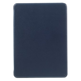 Harga Litchi Leather Smart Case for Amazon Kindle Paperwhite 3/2/1 - Blue (Intl) - intl