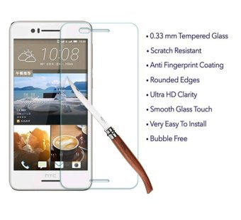 Ueokeird 9H HD Clear Tempered Glass Screen Protector Film For HTC Desire 728 - intl - 3