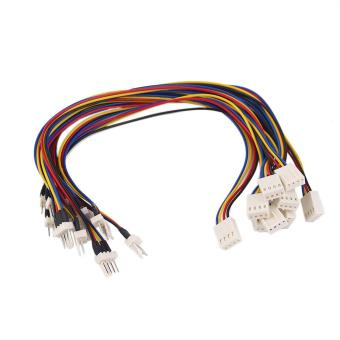 Harga Beau 4 Pins CPU Cooling Fan Extension Resistor Cable Wire Internal Power Cord - intl